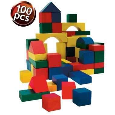Speelgoed blokken hout 1 jaar