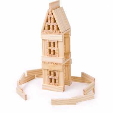 Speelgoed blokken hout kinderen 1 jaar