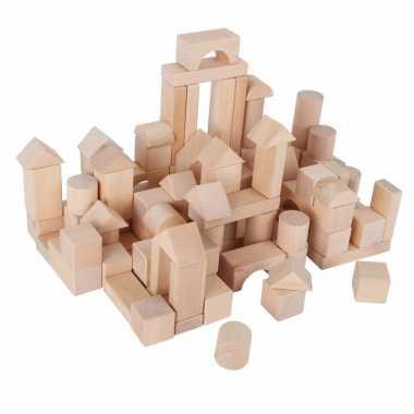 Zak houten blokken 1 jaar